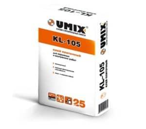 Клей плиточный KL-105 «UMIX», 25 кг