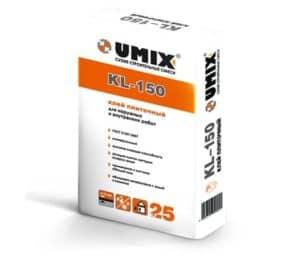 Клей плиточный KL-150 «UMIX», 25 кг