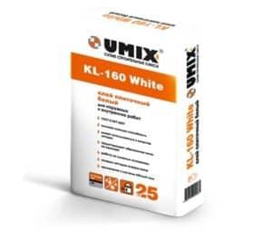 Клей плиточный KL-160 White «UMIX», 25 кг