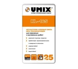 Клеевая смесь KL-165 «UMIX», 25 кг