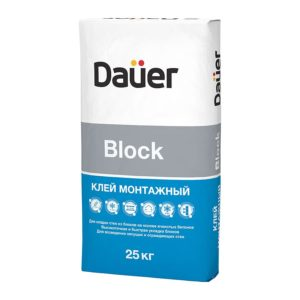 Клей монтажный Block, 25 кг
