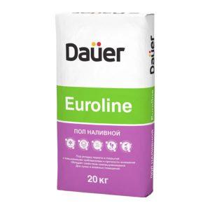 Наливной пол Euroline «DAUER», 25 кг
