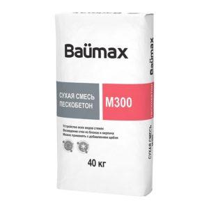 Пескобетон М300 «Baumax», 40 кг