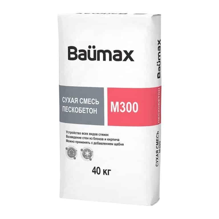 Пескобетон Baumax М300 40 кг