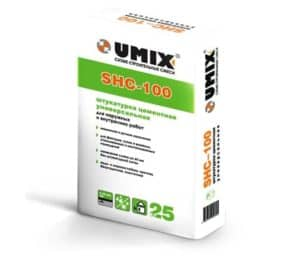 Штукатурка SHC-100 «UMIX», 25 кг