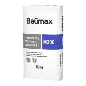 Смесь М200 кладочная «Baumax», 50 кг