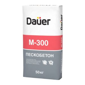 Пескобетон М300 «DAUER», 50 кг