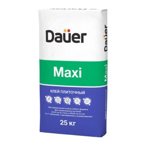 Плиточный клей Maxi «DAUER», 25 кг