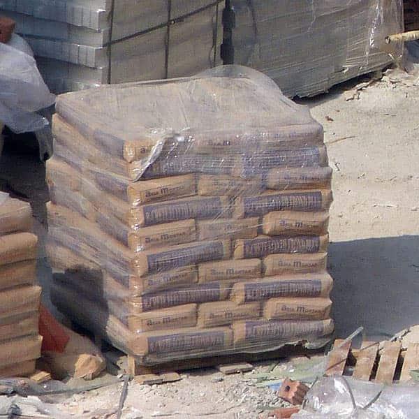 как сохранить цемент до весны на даче