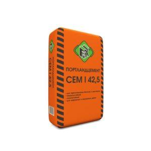 Цемент М500 Д0 (ЦЕМ I 42,5), мешок 40 кг, «Fix»