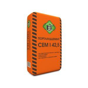 Цемент М500 Д0 (ЦЕМ I 42,5), мешок 50 кг, «Fix»