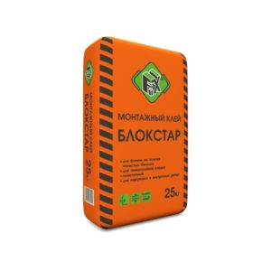 Клей монтажный Блокстар «Fix», 25 кг