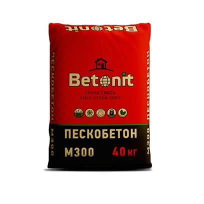 Сухая смесь М300 «Betonit»